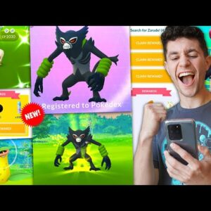 CATCHING NEW ZARUDE IN POKÉMON GO + THE BEST SHINY OF THE EVENT!