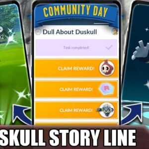DUSKULL SPECIAL RESEARCH QUEST LINE - *NOTHIN' DULL ABOUT DUSKULL* - WORTH $.99 ?! | POKÉMON GO