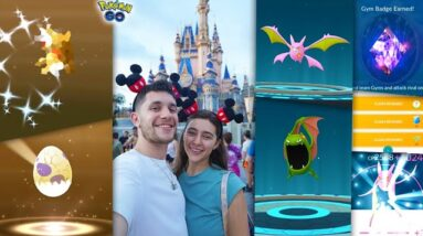EPIC BIRTHDAY LUCK at the MOST MAGICAL PLACE ON EARTH for Pokémon GO!