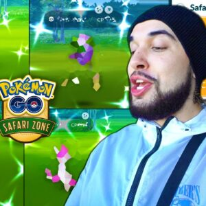 IN ALL MY YEARS I'VE NEVER DONE THIS! (Pokémon GO Safari Zone Liverpool)