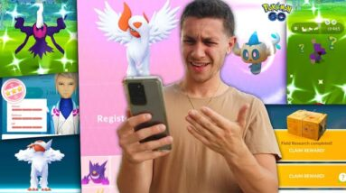 WHY WOULD POKÉMON GO DO THIS...
